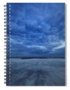 Dusk On Fire Island Spiral Notebook