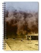 Dust Storm, 1930s Spiral Notebook