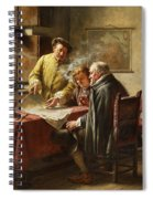 Dutch Merchants Spiral Notebook
