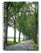Dutch Road - Digital Painting Spiral Notebook