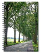 Dutch Road - Digital Painting Spiral Notebook