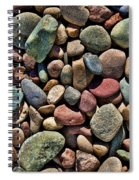 Dyed Stones Spiral Notebook