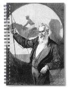 Eadweard Muybridge Spiral Notebook