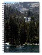 Eagle Falls Emerald Bay Spiral Notebook