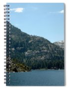 Eagle Falls In Emerald Bay Spiral Notebook