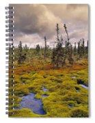 Eagle Plains, Yukon Territory, Canada Spiral Notebook