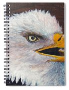 Eagle Study Spiral Notebook