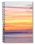 Eagle Sunrise Spiral Notebook