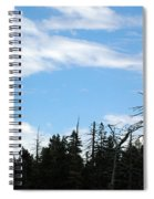 Eagles Nest Lake Tahoe Spiral Notebook