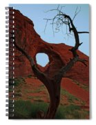 Ear Of The Wind Spiral Notebook