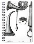 Ear Trumpets Spiral Notebook