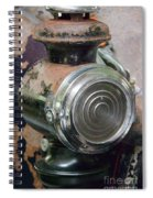 Early 1900s Buick Head Lamp Spiral Notebook