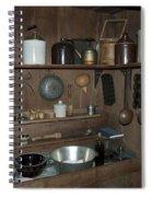 Early American Utensils Spiral Notebook