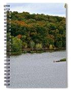 Early Autumn Shoreline Spiral Notebook