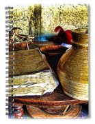 Early Colonial Still Life Spiral Notebook