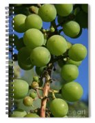 Early Grapes Spiral Notebook