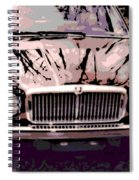 Early Jaguar Xj6 Spiral Notebook