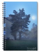 Early Morning Farmhouse Spiral Notebook