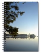Early Morning On Lost Lake Spiral Notebook