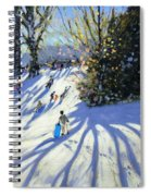 Early Snow Darley Park Spiral Notebook