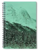 Early Snow In The Mountains  Spiral Notebook