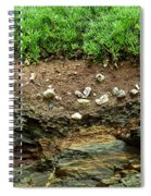 Earth Cross Section Spiral Notebook