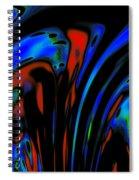 Earth Destruction Spiral Notebook
