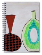 Earthen Decorative Pottery Spiral Notebook