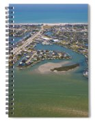 East Coast Aerial Spiral Notebook