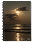 East Coast Sunrise Spiral Notebook