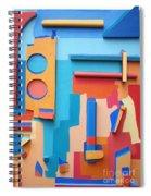 East End Summer Spiral Notebook