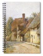 East Hagbourne Berkshire Spiral Notebook