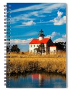 East Point Lighthouse Reflection Spiral Notebook