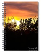 East Texas Sunset Spiral Notebook