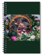 Easter Bunny Spiral Notebook