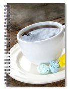 Easter Coffee Spiral Notebook