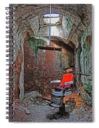 Eastern State Penitentiary Barber Shop Spiral Notebook