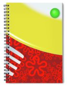 Eat Your Peas Spiral Notebook
