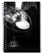 Ebony Wind Spiral Notebook