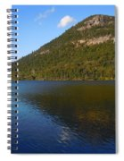 Echo Lake Franconia Notch New Hampshire Spiral Notebook