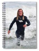 Echoes Of Baywatch Spiral Notebook