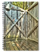 Eco Shower Spiral Notebook