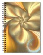 Ecru Spiral Notebook