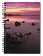 Edge Of A New Day Spiral Notebook