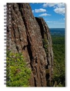 Edge Of The Mountain Spiral Notebook