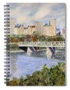 Edmonton Skyline Spiral Notebook