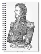Edmund Pendleton Gaines Spiral Notebook