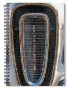Edsel Grille Spiral Notebook