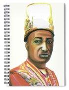 Edward Frederick Mutesa II Spiral Notebook