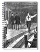 Edward Payson Weston Spiral Notebook